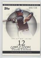 Frank Thomas (1994 AL MVP - 101 RBI) /150