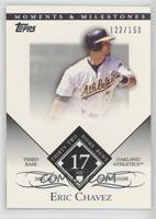 Eric Chavez (2002 AL Silver Slugger - 32 Home Runs) /150