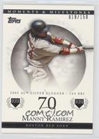 Manny Ramirez (2005 AL Silver Slugger - 144 RBI) #/150