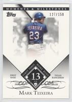 Mark Teixeira (2005 AL Silver Slugger - 43 Home Runs) #/150