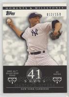 Mariano Rivera (2005 AL Rolaids Relief Winner - 43 Saves) #/150