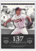 Greg Maddux (1993 NL Cy Young - 197 StrikeOuts) #/150