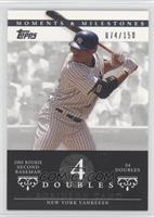 Robinson Cano (2005 Rookie Second Baseman - 34 Doubles) #/150