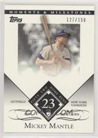 Mickey Mantle (1956 Triple Crown - 52 Home Runs) [Noted] #/150