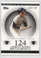 Mickey Mantle (1956 Triple Crown - 130 RBI) /150
