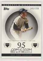 Mickey Mantle (1956 Triple Crown - 130 RBI) [EXtoNM] #/150