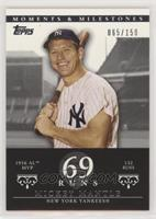 Mickey Mantle (1956 AL MVP - 132 Runs) #/150