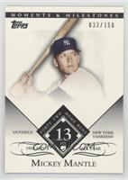Mickey Mantle (1958 All-Star - 42 Home Runs) /150