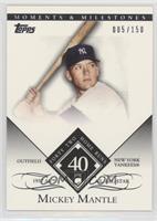 Mickey Mantle (1958 All-Star - 42 Home Runs) [EXtoNM] #/150