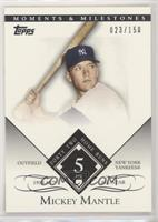 Mickey Mantle (1958 All-Star - 42 Home Runs) [Noted] #/150