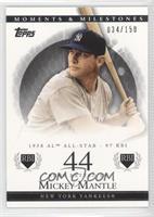 Mickey Mantle (1958 AL All-Star - 97 RBI) #/150