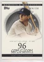 Mickey Mantle (1958 AL All-Star - 97 RBI) [Noted] #/150