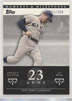 Mickey Mantle (1958 AL All-Star - 127 Runs) [Noted] #/150