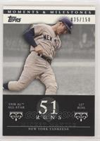 Mickey Mantle (1958 AL All-Star - 127 Runs) [EXtoNM] #/150