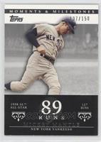 Mickey Mantle (1958 AL All-Star - 127 Runs) /150