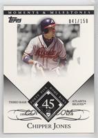 Chipper Jones (1999 NL MVP - 45 Home Runs) /150