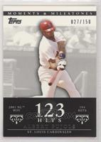 Albert Pujols (2001 NL ROY - 194 Hits) #/150