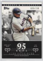 Alex Rodriguez (2003 AL MVP - 124 Runs) /150