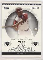 Vladimir Guerrero (2004 AL MVP - 126 RBI) /150