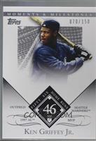 Ken Griffey Jr. (1997 AL MVP - 56 Home Runs) /150