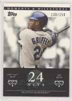 Ken Griffey (1997 AL MVP - 185 Hits) #/150
