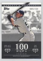 Ichiro Suzuki (2001 AL MVP/ROY - 242 Hits) /150