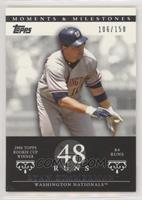 Ryan Zimmerman (2006 Topps Rookie Cup Winner - 84 Runs) #/150