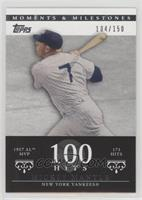 Mickey Mantle (1957 AL MVP - 173 Hits) #/150