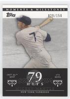 Mickey Mantle (1957 AL MVP - 173 Hits) #/150
