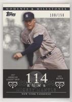 Mickey Mantle (1957 AL MVP - 121 Runs) #/150