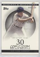 Mickey Mantle (1957 AL MVP - 94 RBI) /150