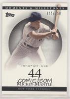 Mickey Mantle (1957 AL MVP - 94 RBI) [EXtoNM] #/150