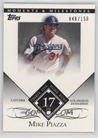 Mike Piazza (1993 NL ROY - 35 Home Runs) /150