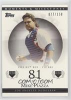 Mike Piazza (1993 NL ROY - 112 RBI) /150