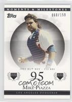 Mike Piazza (1993 NL ROY - 112 RBI) #/150