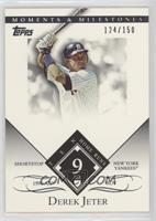 Derek Jeter (1996 AL ROY - 10 Home Runs) #/150