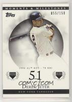 Derek Jeter (1996 AL ROY - 78 RBI) #/150