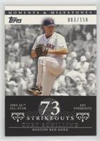 Curt Schilling (2004 AL All-Star - 2003 Strikeouts) /150