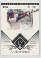 Andruw Jones (2005 NL Silver Slugger - 52 Home Runs) /150