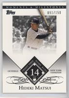 Hideki Matsui (2005 MLB Superstar - 23 Home Runs) /150