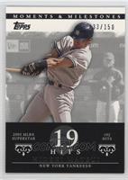 Hideki Matsui (2005 MLB Superstar - 192 Hits) /150