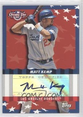 2007 Topps Opening Day - [???] #ODA-MK - Matt Kemp