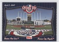 Boston Red Sox Team, Kansas City Royals Team