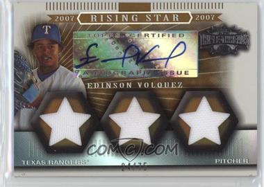 2007 Topps Triple Threads - [Base] - Sepia #168 - Edinson Volquez /75