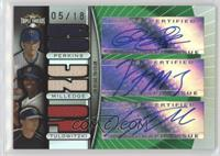 Troy Tulowitzki, Lastings Milledge, Glen Perkins /18