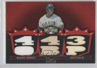 Barry Bonds /36