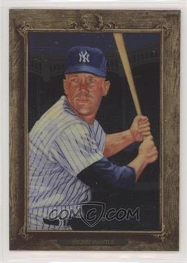 2007 Topps Turkey Red - [Base] - Chrome #167 - Mickey Mantle /1999