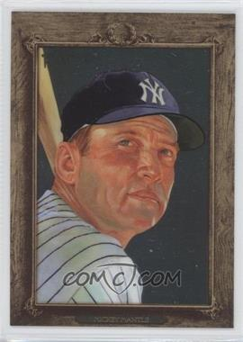 2007 Topps Turkey Red - [Base] - Chrome #77 - Mickey Mantle /1999