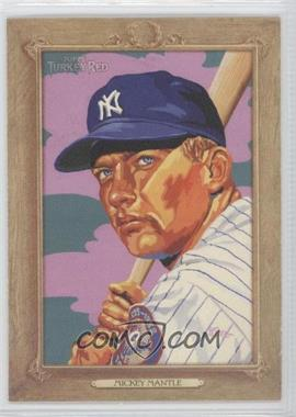2007 Topps Turkey Red - [Base] #7 - Mickey Mantle