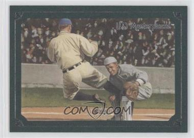 2007 UD Masterpieces - [Base] - Green Linen Frame #20 - Ty Cobb